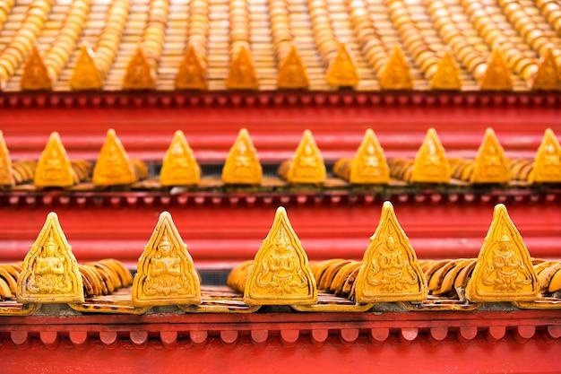 Знаменитый мраморный храм benchamabophit из бангкока, таиланд