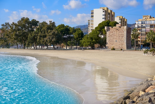 Benicassim torre sant vicent playa beach