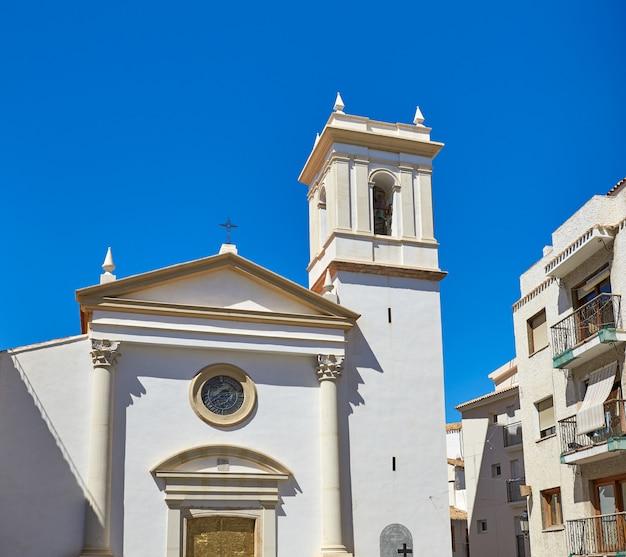 Benidorm church saint jaime and ana spain
