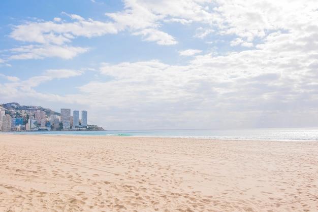 Бенидорм, испания пляж леванте