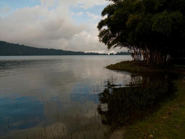 Beratan lake in bali
