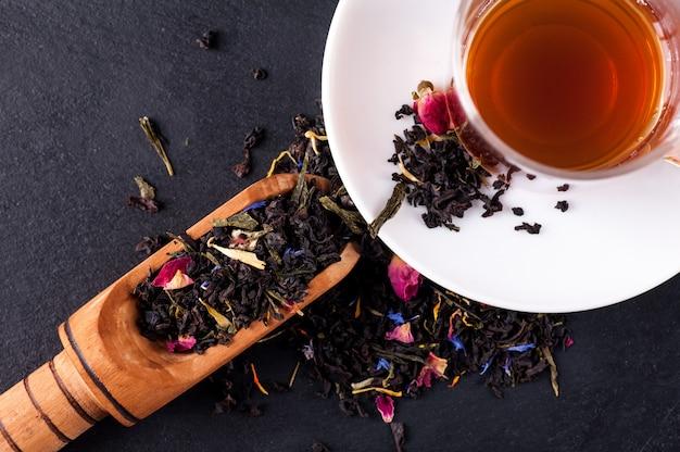 Бергамот зеленый чай