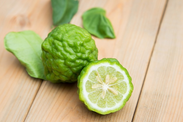 Bergamot slices for use in kitchen