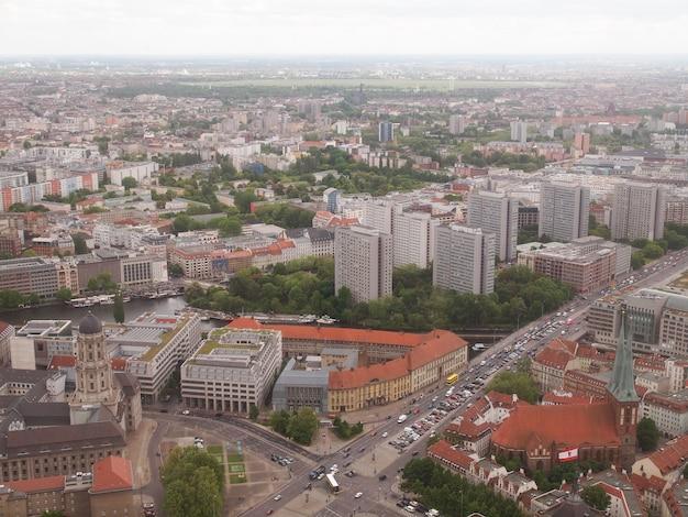 ベルリンの空撮