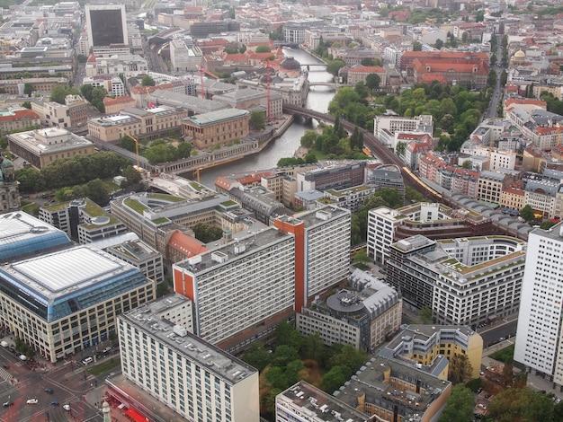 Берлин с высоты птичьего полета