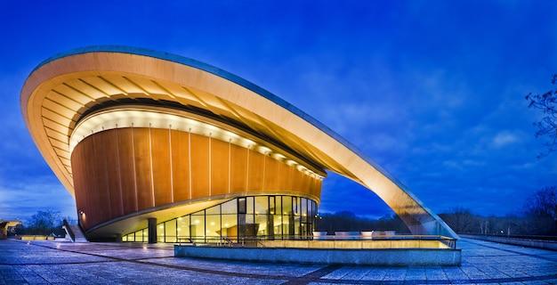 Концертный зал берлина, германия