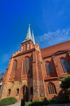 Berlin nikolaikirche church in germany