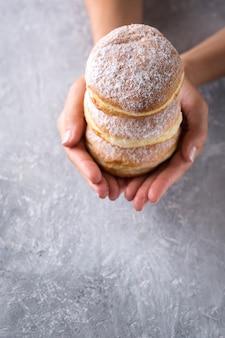 Berliner donuts