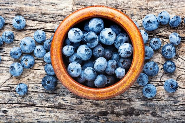 Berries blueberries or bilberry