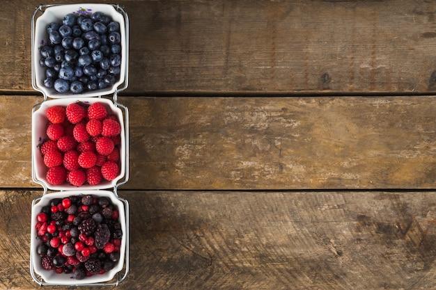 Berries in bowls