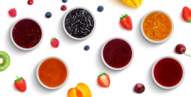 베리와 과일 잼 절연, 평면도