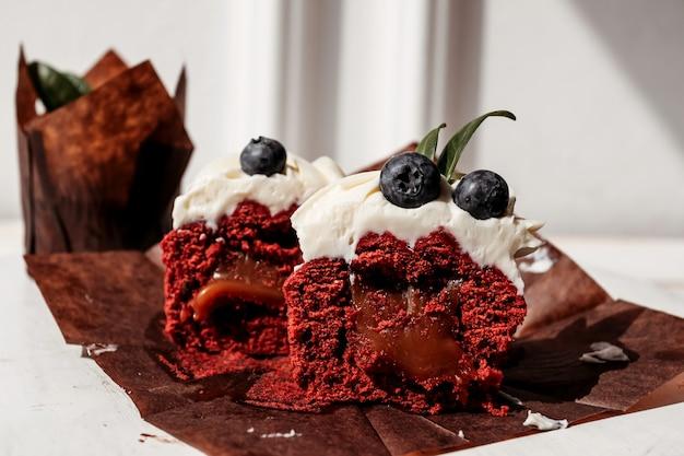 베리 컵 케이크 작성, 잘라 디저트