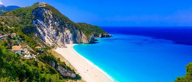 Лучшие пляжи лефкады, впечатляющий милос