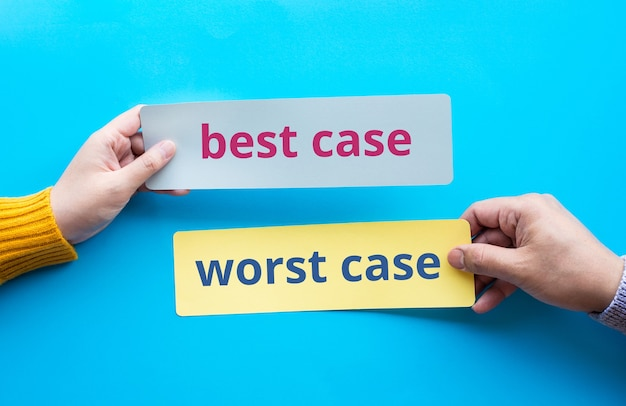 Best case and worst case for decision conceptsanalysis and direction ideas