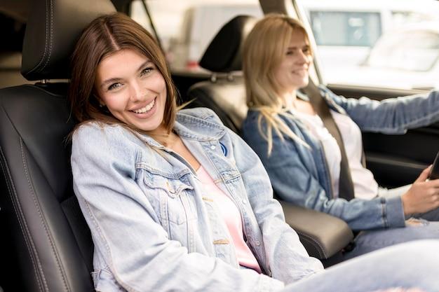 親友がドライブに行く