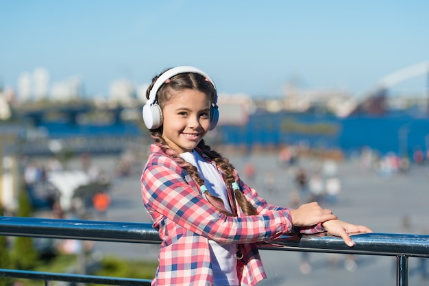 Best music apps that deserve a listen. girl child listen music outdoors with modern headphones. listen for free. get music family subscription. access to millions of songs. enjoy music everywhere.