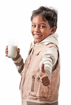 最高の味の牛乳