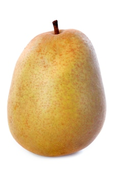 Beurre hardy pear on white