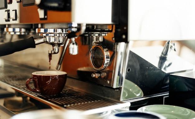 Beverage barista steam coffee chill awakening concept