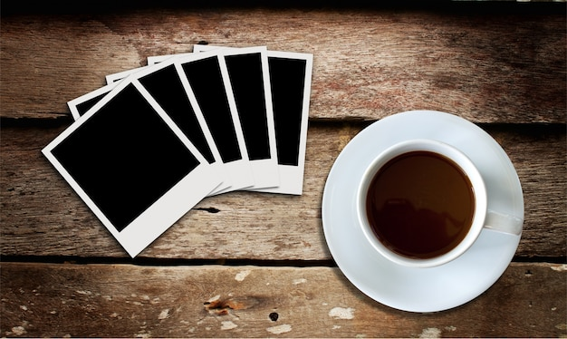 Beverage wooden wood page note