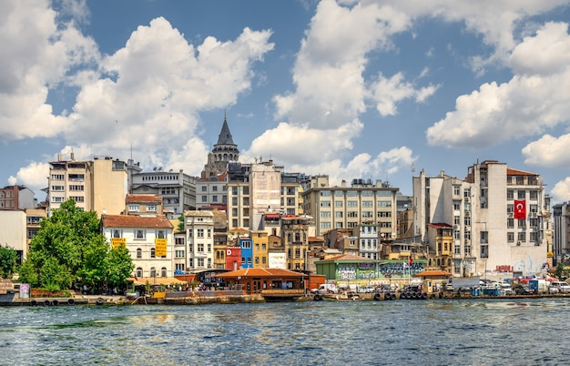 Бейоглу район в стамбуле, турция