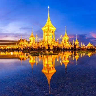 Bhumibol adulyadej王の王室の葬儀場