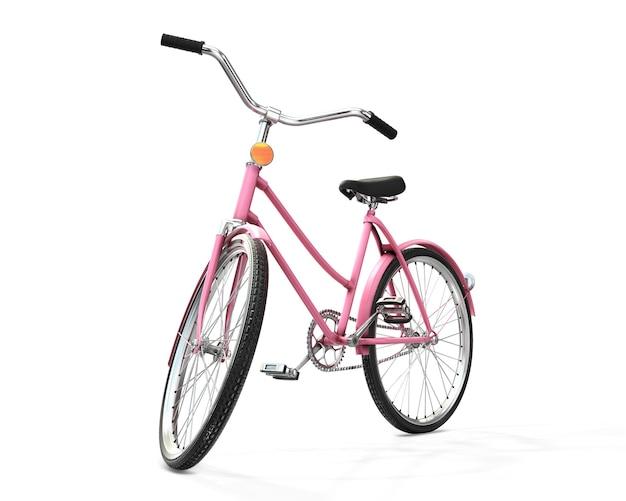 Bicycle 3d rendering