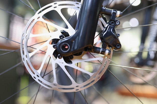 輸送コンセプトのフォーカスメタルの詳細における自転車ディスクブレーキローター