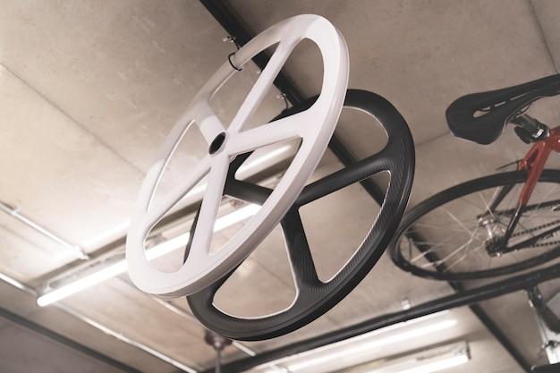 Расположение элементов велосипеда