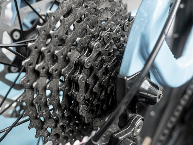 Bicycle gear and chain