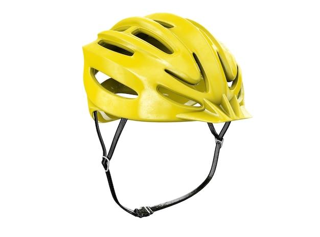 자전거 헬멧 절연입니다. 3d 렌더링