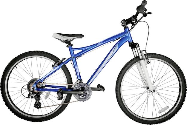 Велосипед, изолированные на белом фоне
