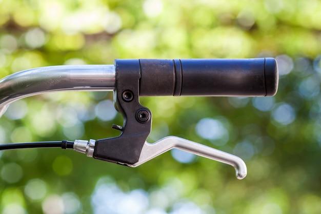 自転車パーツ。セレクティブフォーカスのクローズアップ