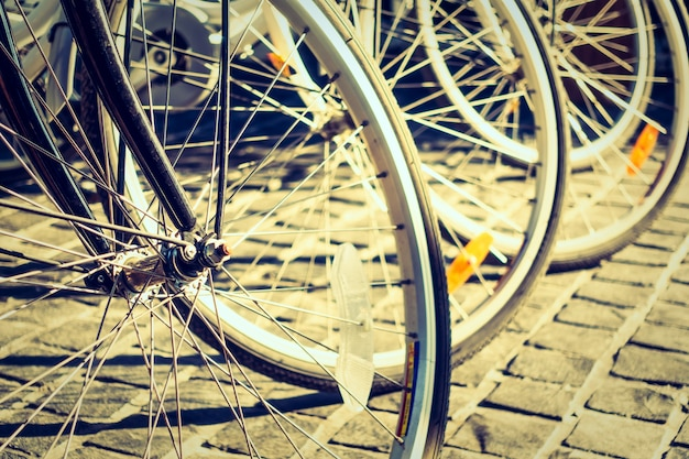 Велосипед спортивные колеса ездить год сбора винограда Бесплатные Фотографии
