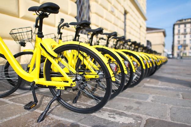 Велосипеды общего пользования в городе