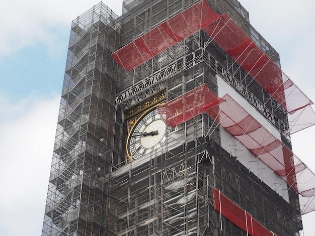 Big ben conservation works in london