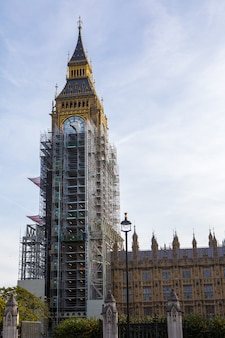 Big ben london travel destination renovate, london , united kingdom