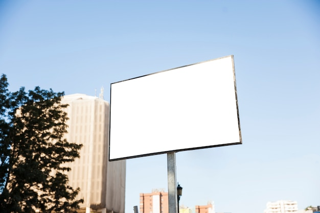 Big billboard in city