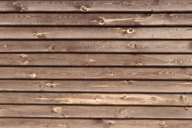 Большая коричневая деревянная доска стены текстуры фона Premium Фотографии