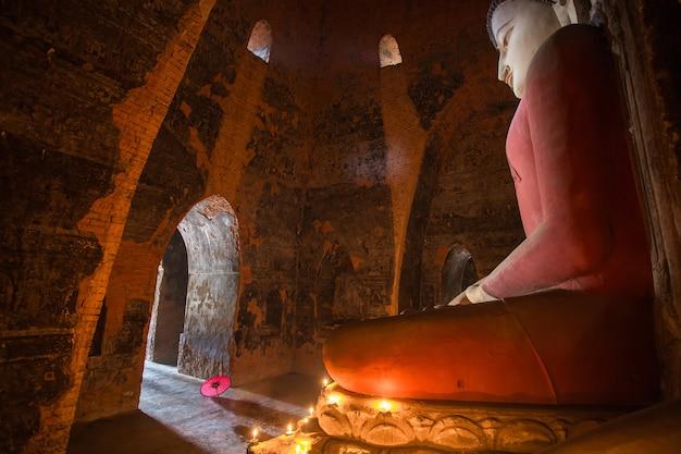 Big buddha in bagan myanmar