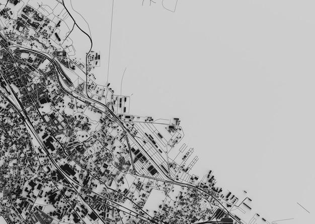 큰 도시 최고 볼 수 있습니다. 캐주얼 그래픽 디자인의 카드 그림. 조각 뭄바이