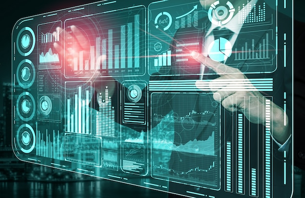 비즈니스 금융 분석 개념을위한 빅 데이터 기술