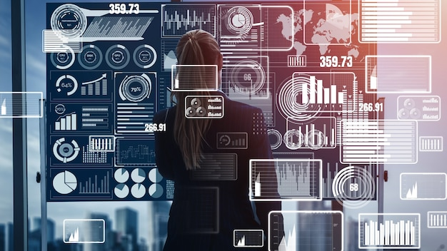 Технологии больших данных для бизнес-финансов концептуальные.