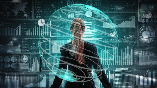 비즈니스 금융 개념을 위한 빅 데이터 기술.