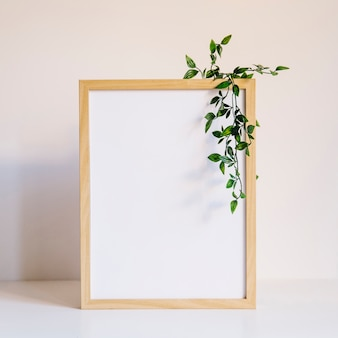 Big frame and leaves