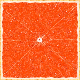 Big grapefruit texture background