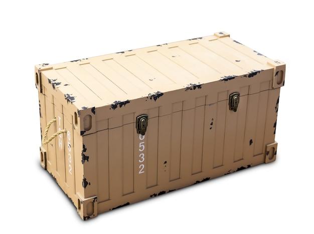 Большой металлический контейнер