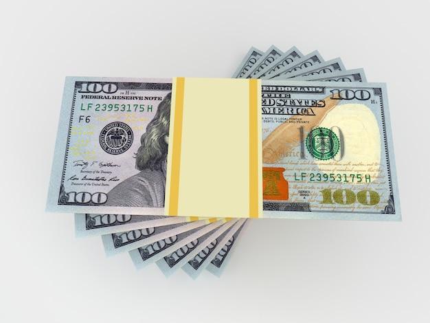 ドルから大きなお金が積み重なる。金融の概念