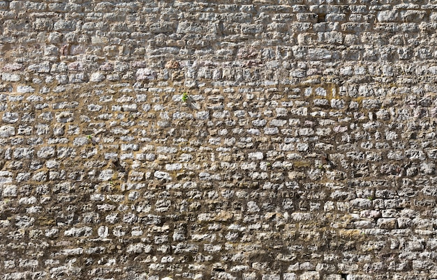 大きな古い石の壁の背景
