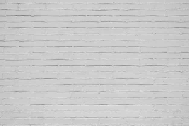 Big old white bricks wall for background